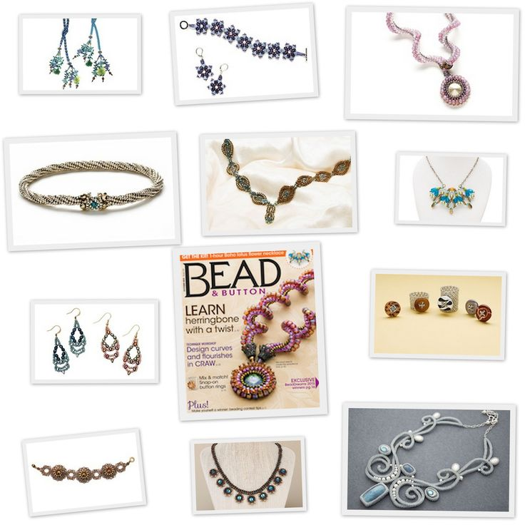 Bead & Button New October issue in stock http://8beads.com/en_bead-button-october-2015-p-7834.html
