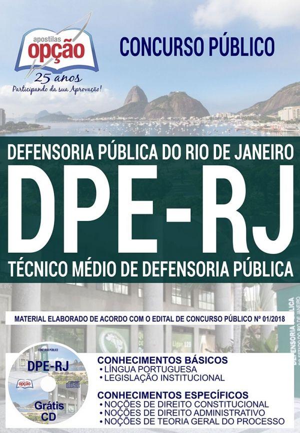 Blog Do Professor Carlao Concurso Dpe Rj 2019 Tecnico Medio De