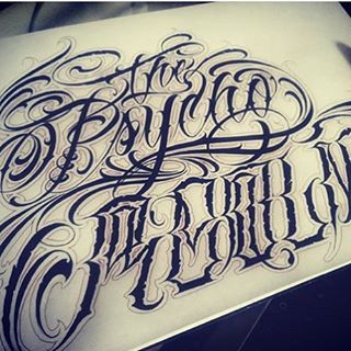 Fucking nice script by @enemigoinfame @enemigoinfame @enemigoinfame #lettering #letteringcartel #script #customscript #customlettering #typ #typ #typo #typography #typographie #typographyinspired #tattooscript #tattoolettering #chicano #chicanoscript