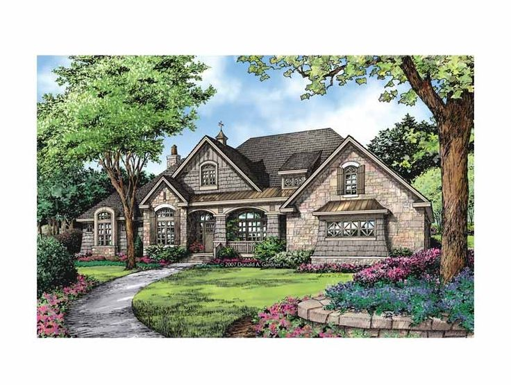 Eplans French Country House Plan Gourmet Kitchen And