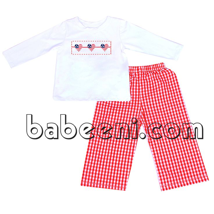 Nice heart smocked clothing set for little boy - BC 674 http://babeeni.com/Detail-nice-heart-smocked-clothing-set-for-little-boy---bc-674-6577.aspx