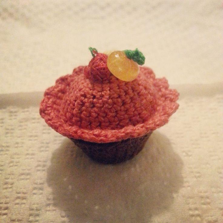 Cupcake amigurumi fatto a mano con uncinetto, by Fatto a mano Lumanufattu, 3,50 € su misshobby.com