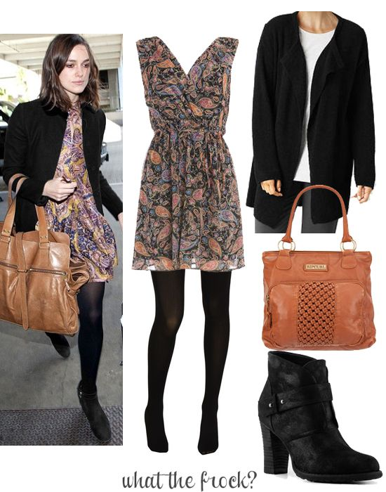 What the Frock? - Affordable Fashion Tips and Trends: Celebrity Look for Less: Keira Knightley Style