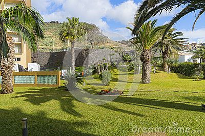 Hotel Four Views Oasis in Canico de Baixo on Madeira Island not far from the capital Funchal. Portugal.