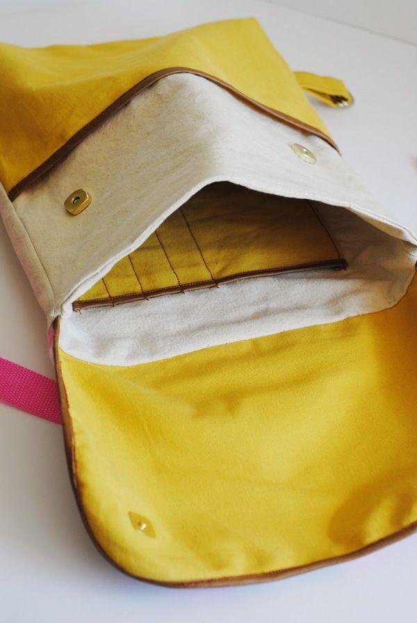hart + sew: (back) to school Backpack Tutorial