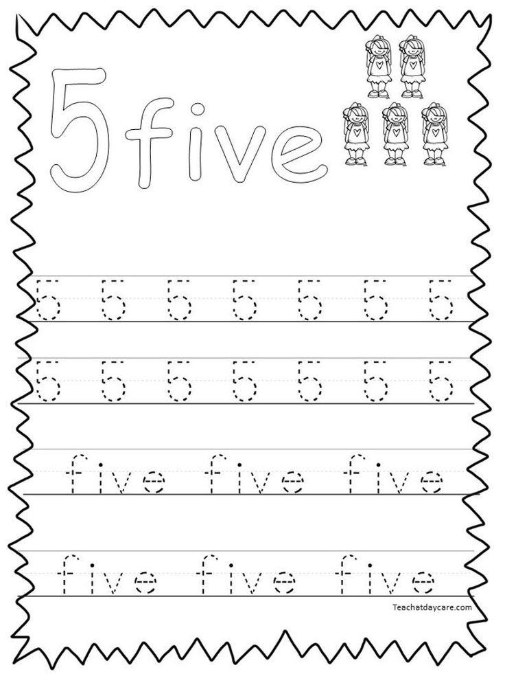 20 Printable Numbers 120 Tracing Worksheets. Preschool