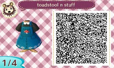 """pitfallinginlove: """" Mushroom overalls with a Peter Pan collar and lil flower details on the bottom :-) """""""