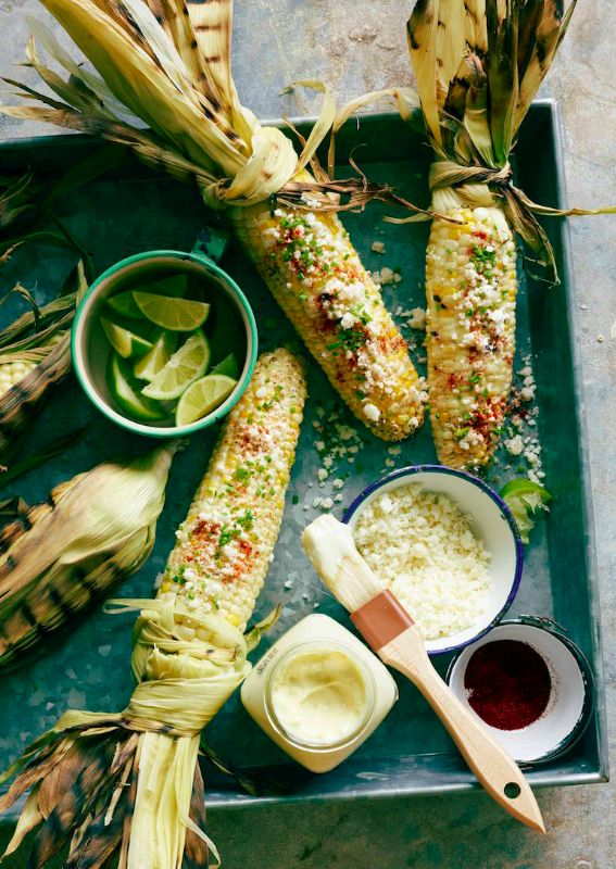 Mexican Grilled Corn from www.whatsgabycooking.com is the PERFECT summer side dish (@whatsgabycookin)