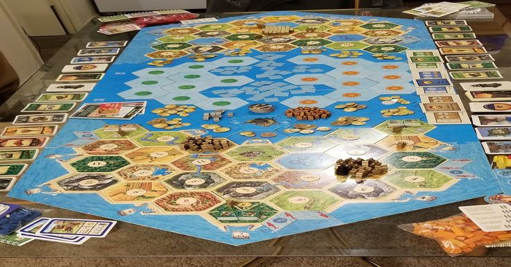 Our everyexpansion Catan Board boardgames in 2020