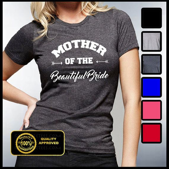 Mother Of The Bride T-shirt Father of the Bride by GreatLifeTees (rehearsal dinner)
