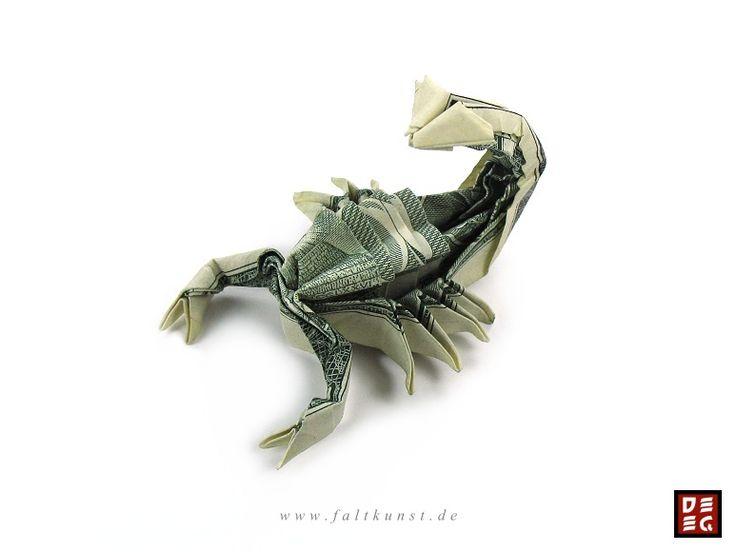 Skorpion   Faltkunst IRudolf Deeg                                                                                                                                                                                 Mehr