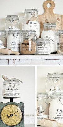 Envases de vidrio llenos de estilo.   14  Regalos hechos por ti mismo que le puedes dar a alguien sin gastar dinero