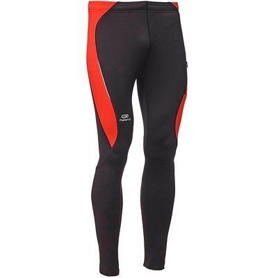 RUNNING_textil Running - Mallas largas de running hombre Kalenji Elioplay roja y negra KALENJI - Running