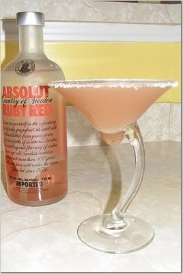 Ooooh I LOVE Grapefruit!!! - Grapefruit Martini « Angie's Simple Cooking