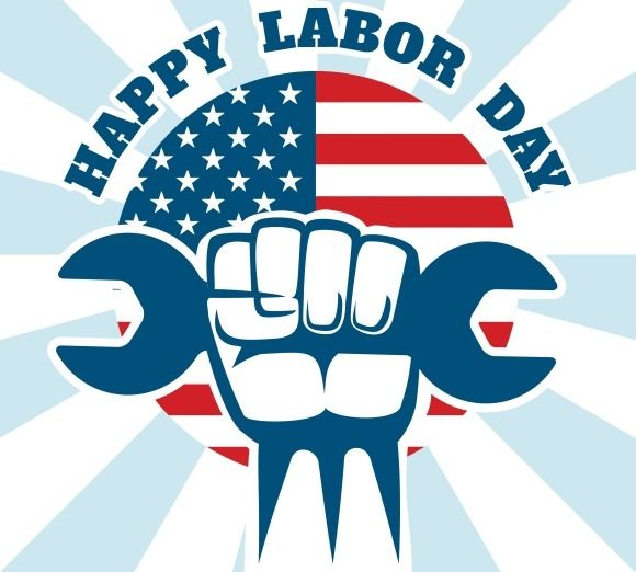 Happy Labor Day Poster by Microvector on Creative Market