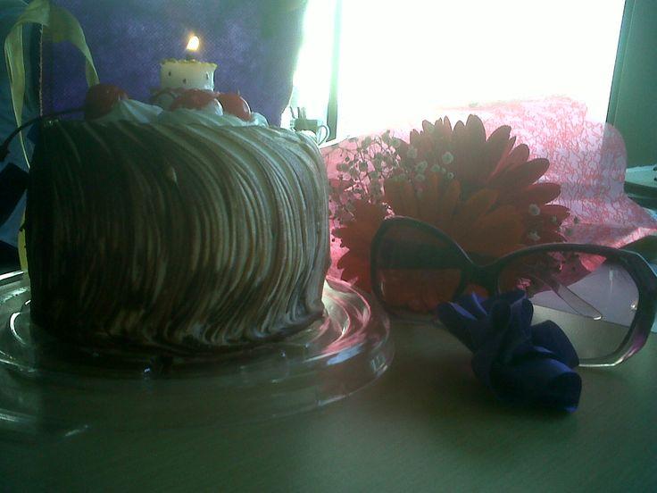 Así celebramos el cumpleaños de Julie Abril en 2010...