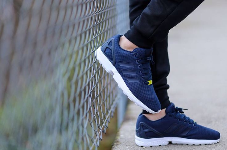 zx flux adidas navy