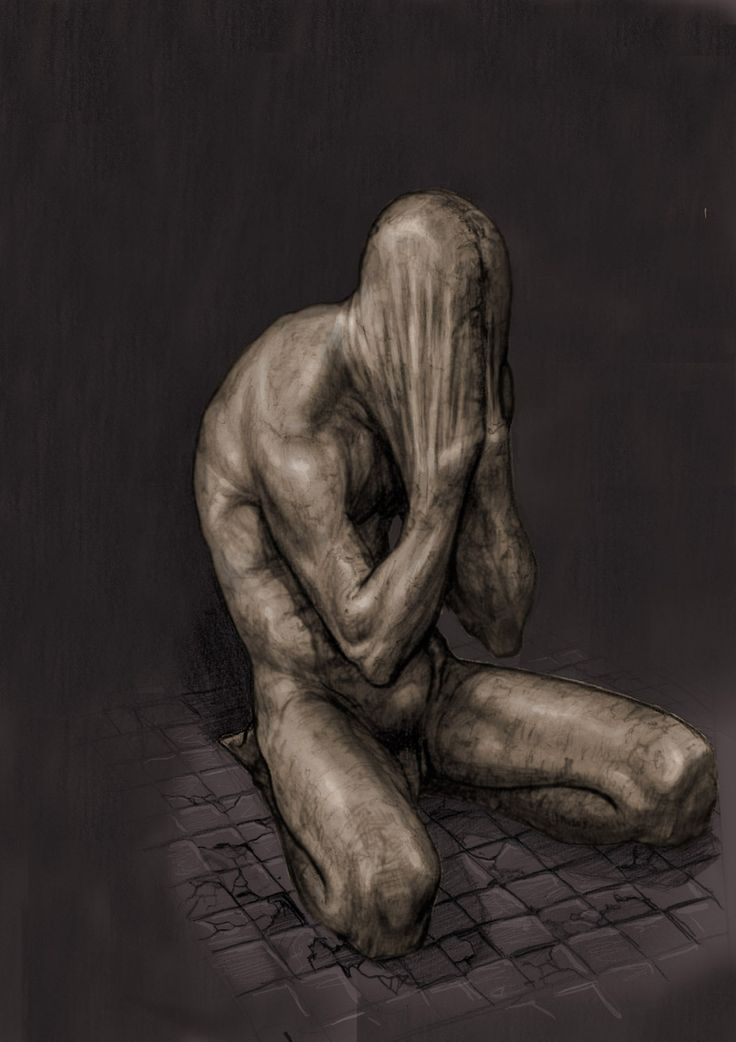 The Cryer by StilleNacht.deviantart.com on @deviantART