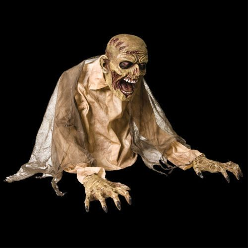Halloween Animated GASEOUS ZOMBIE FOG Machine Accessory Prop Haunted House NEW