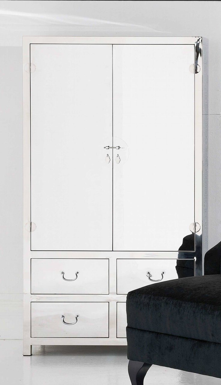 Dream Stainless Steel Cabinet from Domayne