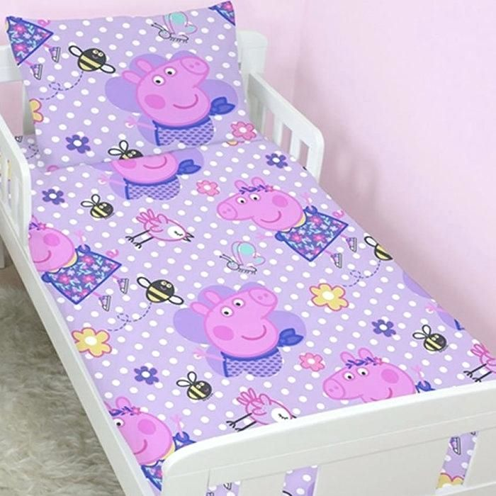 Amazing Beautiful Peppa Pig Rug With Cars For Peppa Pig Toddler Bed Interior Design Ideas Tzicisoteloinfo
