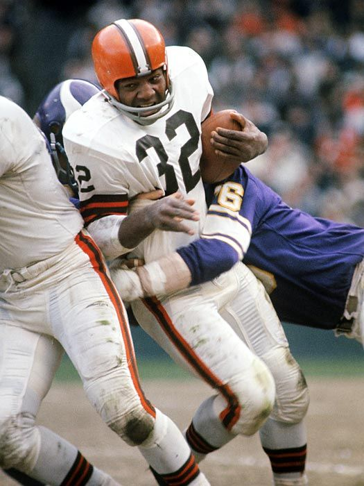 Jim Brown, Cleveland Browns