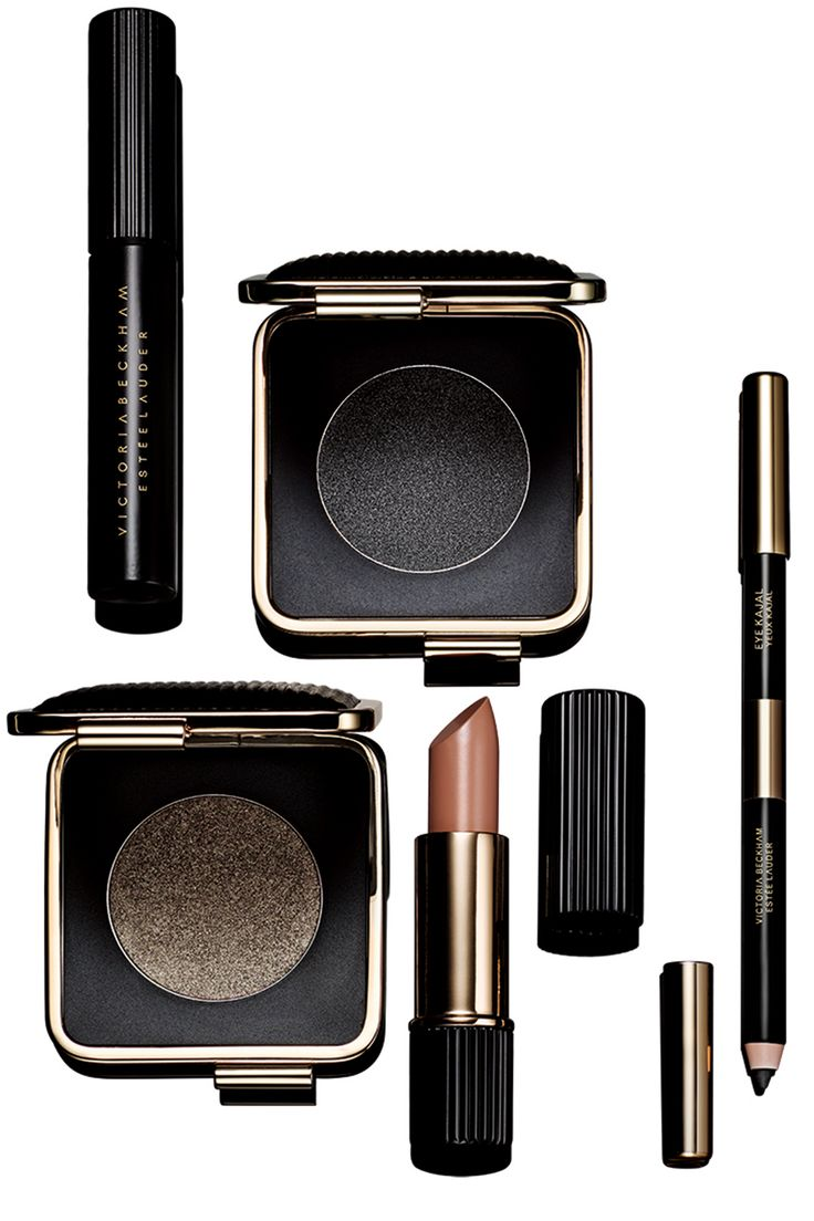 I LOVE the Victoria Becham for Estee Lauder makeup collaboration. The London look is my favourite, with smudgy blacks and wet-look shimmers.