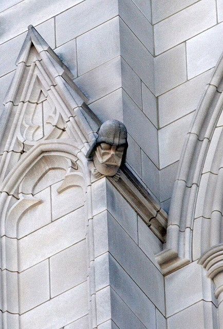 Darth Vader Gargoyle at the Washington National Cathedral.