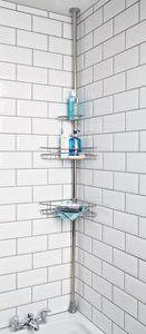 George Home Carbon Steel Corner Shelf Unit | Bathroom Accessories | George at ASDA