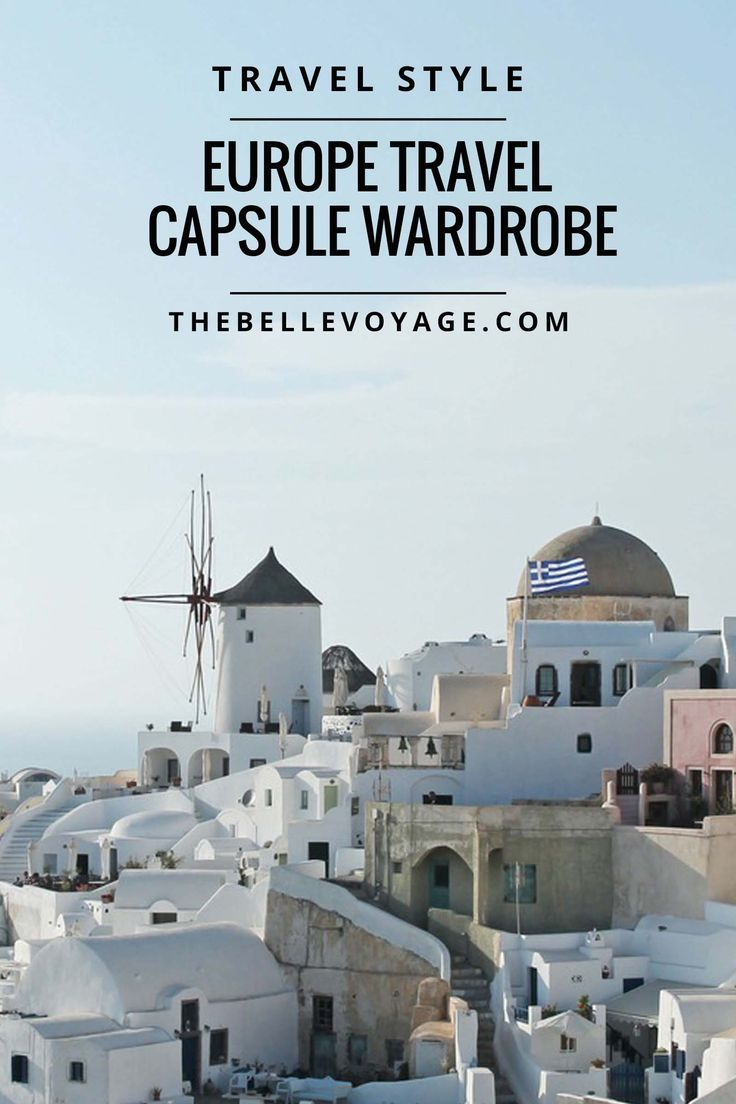 17 Best Images About Ⓢ Travel Style: Clothing Capsules