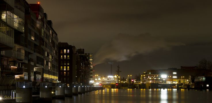 Zaandam at Night