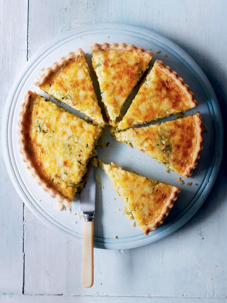 This versatile vegetarian tart recipe is perfect for informal entertaining or the family.