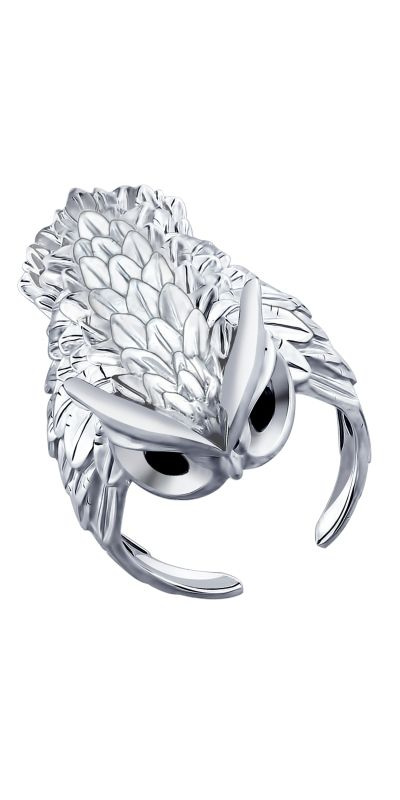 Stunning owl ring! Owl jewerly goes well with bohemian style