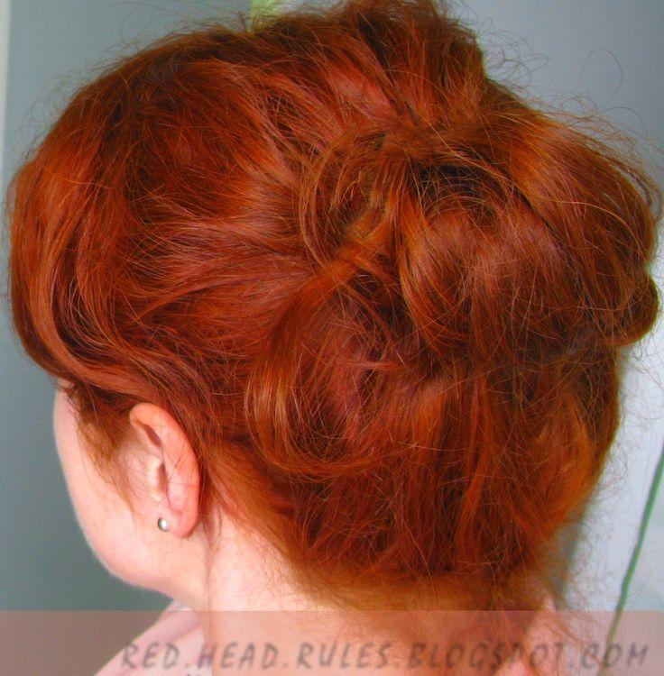 Blog o farbowaniu rudych włosów i pielęgnacji skóry wrażliwej