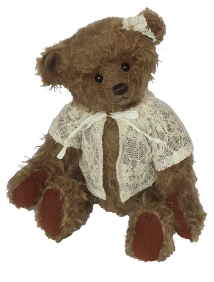Martha Clemens Limited Edition Collectable German Mohair Wool Teddy Bear