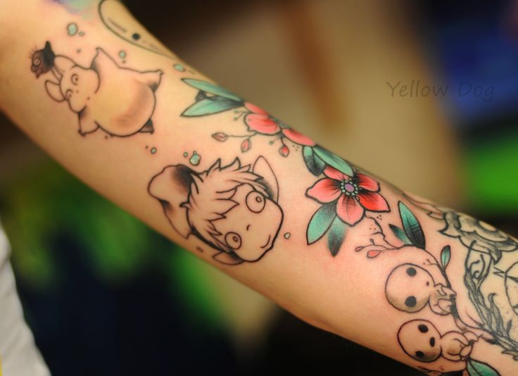 35 best images about tattoos studio ghibli on pinterest for Studio 7 tattoo