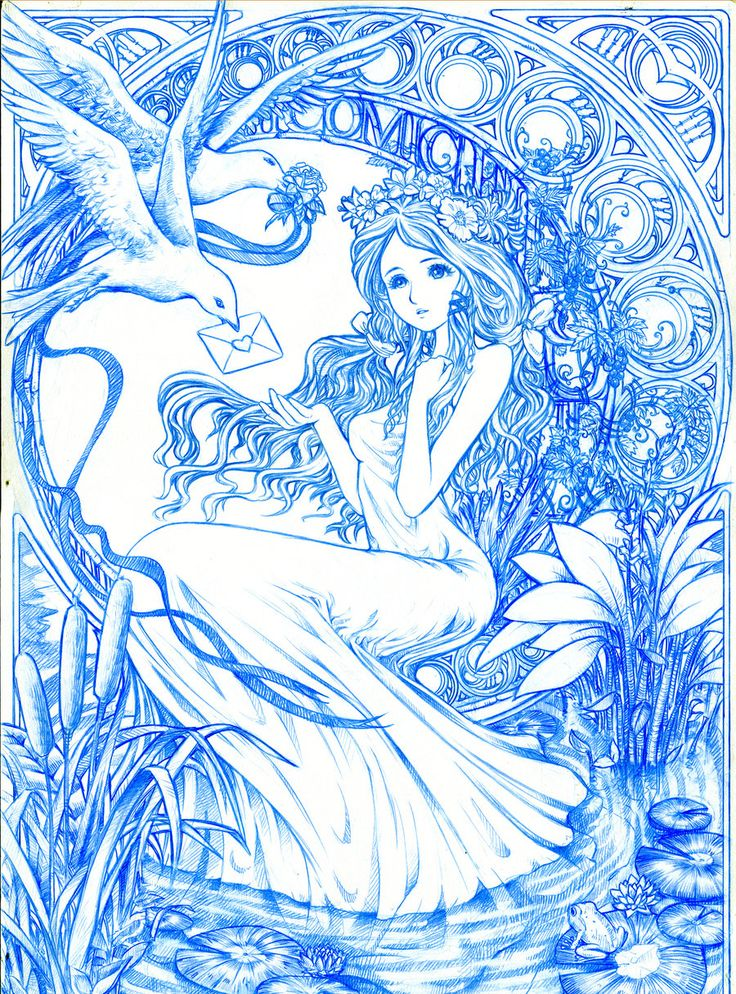 comic fiesta 2011 art line art by sinmsdeviantartcom on colouring pagesadult coloring - Art Nouveau Unicorn Coloring Pages