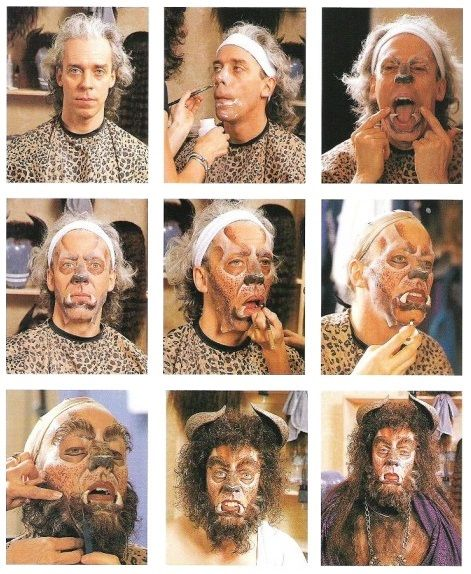 queenfastrada:  Terrence Mann's transformation into the Beast of Beauty and the Beast