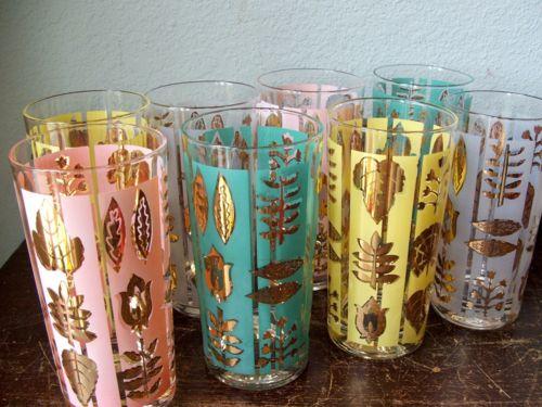 beautiful vintage glasses