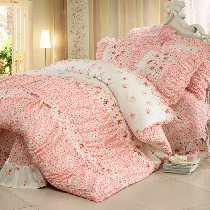 Aliexpress.com : Buy The best gift for lover Korean countryside 100% cotton 4pcs bedding sheets bed sets bed linen bedclothes romantic houseful from Reliable 4pcs bedding sheets suppliers on Yous Co., Ltd. $80.00