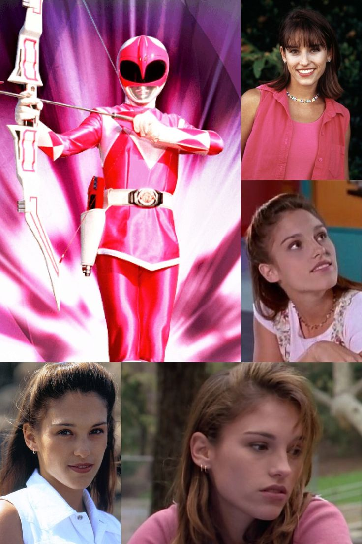 Mighty Morphin Pink Ranger/Kimberly Ann Hart played by Amy Jo Johnson.
