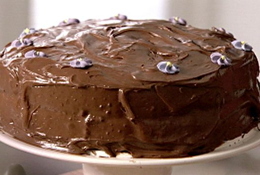 Old-Fashioned Chocolate Cake Recipe : Nigella Lawson : Food Network - FoodNetwork.com