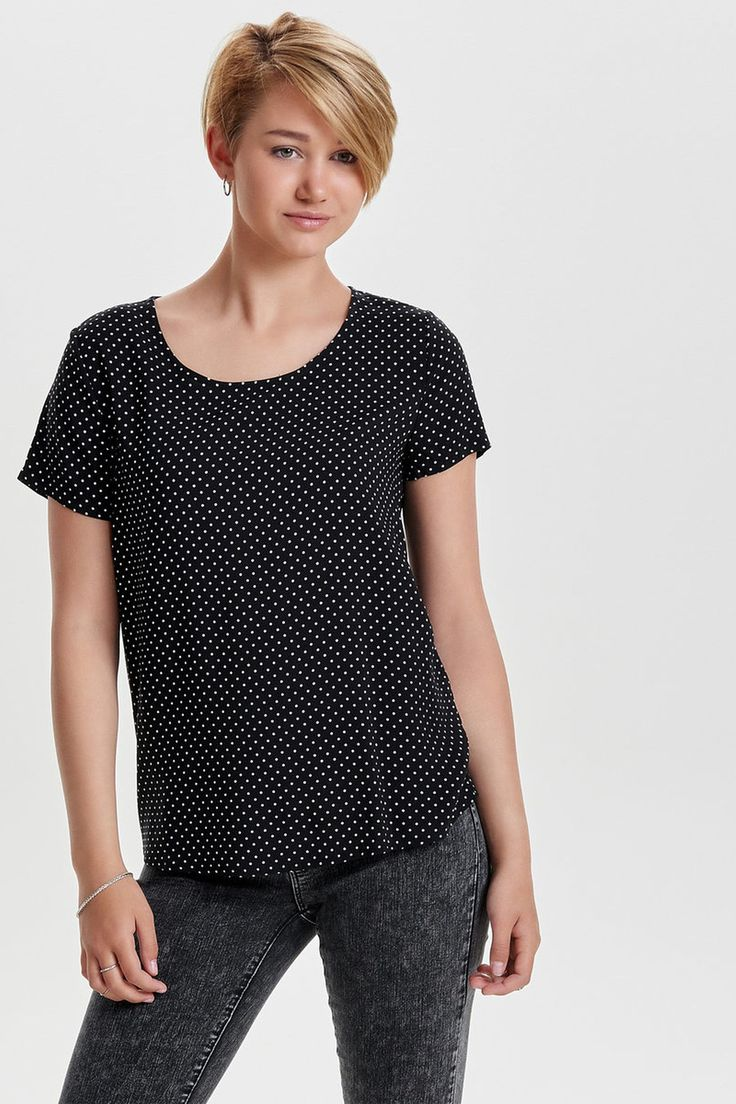 blousetop met print