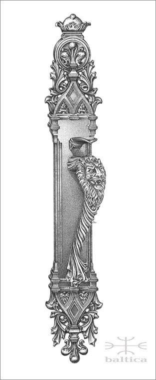 Davide Lion II thumblatch | Custom Door Hardware