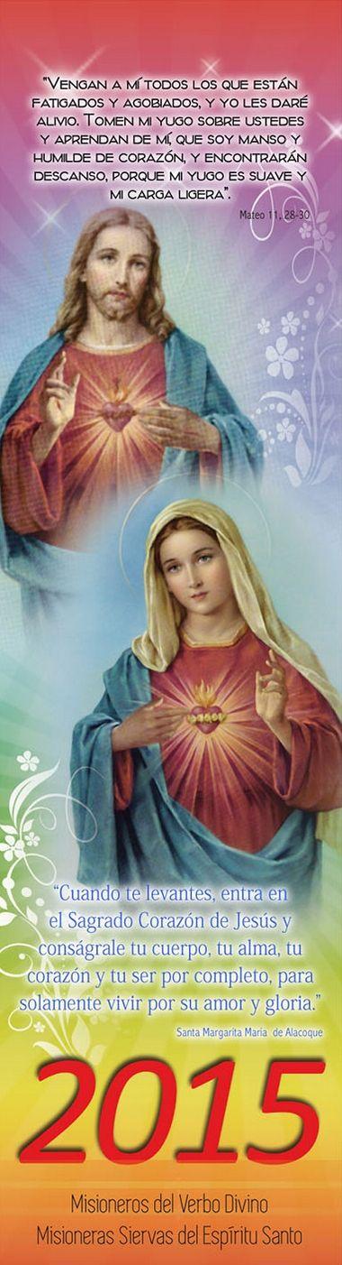 Librería San José » Almanaque 2015 – Sagrados Corazones de Jesús y María