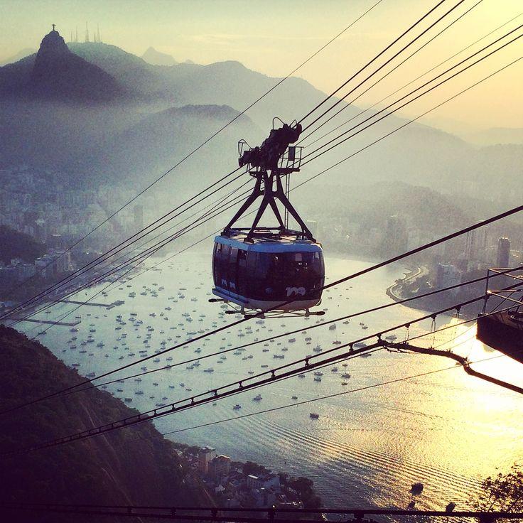 SUGARLOAF  MOUNTAIN VIEW / VISTA PAN DE AZÚCAR - #RIODEJANEIRO