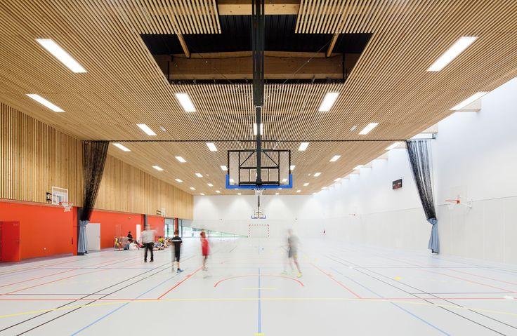 Gallery of School Gymnasium in Neuves Maisons / Giovanni PACE architecte + abc-studio - 14