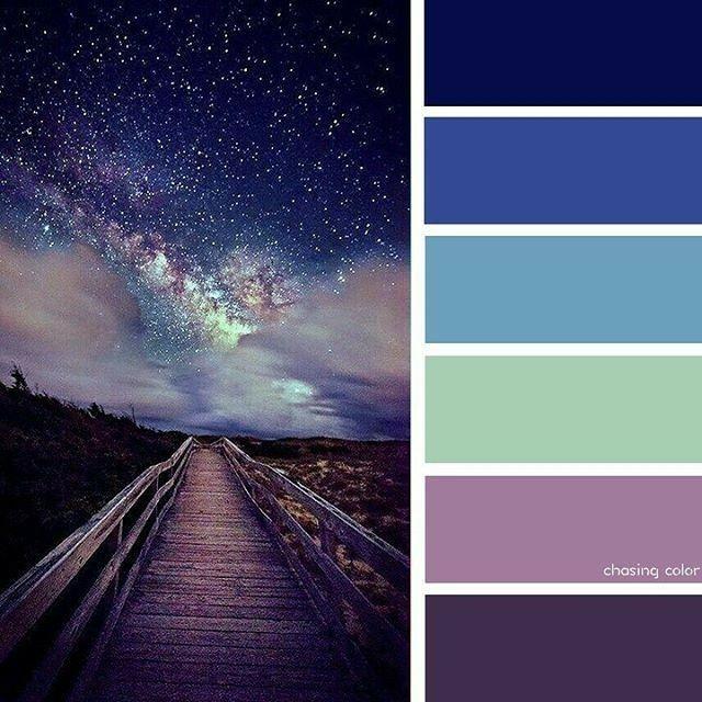Адлера адлера, картинки с палитрой цветов ночной