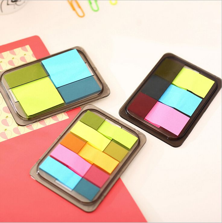 3 PCS/Lot New Style Mini Memo Pads Kawaii Sticky Notes School Stationery Creative Removable Stickers Candy Color