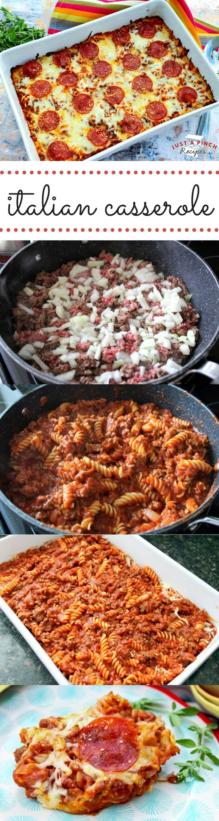 I love the meaty marinara pasta that you can buy. So I decided to try to make it at home. It is easy to make and very appetizing. This tastes like a cross between a meat lovers pizza and lasagna.